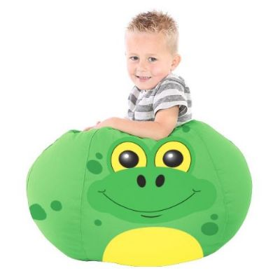 Fred the Frog Animal Bean Bag,Frog themed beanbag,sensory room beanbag,beanbag,large bean bags,extra large bean bags,floor cushions,floor beanbags,bean bags,cheap beanbags,sensory cushion,rompa cushions,rompa toys,roma sensory,bean bag Bazaar Bag